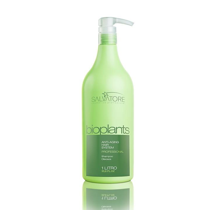 Shampoo Bioplants Profissional 1 Litro - Tratamento do Couro Cabeludo Para Salão