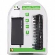 Carregador Notebook Compacto 65W Automatico 12 Conectores - CB082