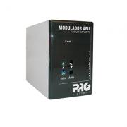 Modulador ágil VHF/UHF/CATV/CFTV