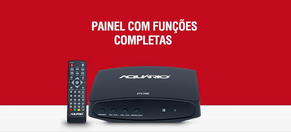 CONVERSOR E GRAVADOR DIGITAL FULL HD DTV-7000
