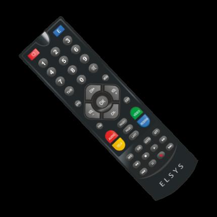 Receptor Elsys Duomax HD Analógico e Digital via satélite