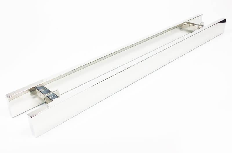 Puxador para Porta Tubular Reto Inox - Grand Clean - Polido  - Puxadores para Portas