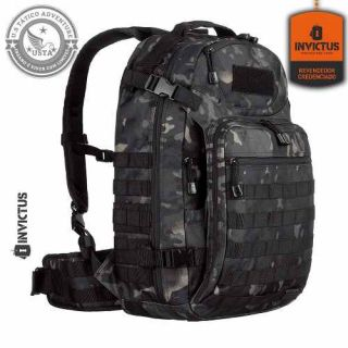 Mochila Mission Multicam Black Invictus Tática Militar