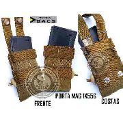 Bolso Porta Carregador Mag M4/m16 Modular Dacs 1x556 COYOTE