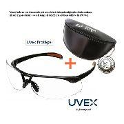 Óculos Proteção Balístico Uvex Protégé Antiembaçante Supremo Com Case