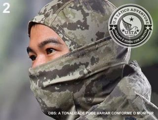 Balaclava Tática CAMUFLADO TERRAIN VERDE OLIVA