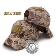 Boné Tático Ripstop Digital Desert Velcro Ajustável