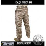Calça Tática Militar Hrt - Desert Ripstop Americano - Dacs