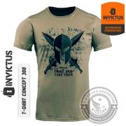 Camiseta T-shirt CONCEPT 300 INVICTUS Original - Algodão
