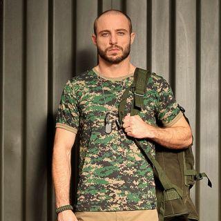 Camiseta Tática Camuflada Marpat Bravo