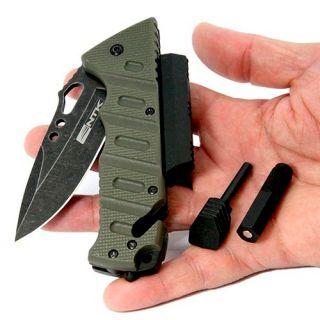 Canivete Bolso Multifuncional Militar Tatico Aço Inox 420