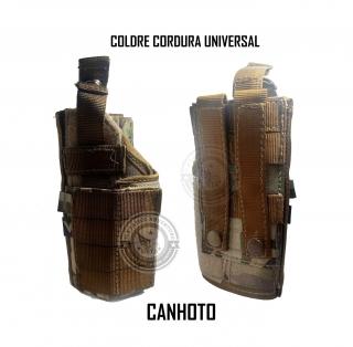 Coldre Modular Em Cordura Universal Tactical Dacs - Canhoto