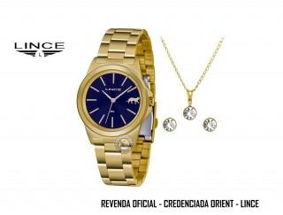 Conjunto Relógio Feminino Lince Orient Funny - LRGH125L KX24