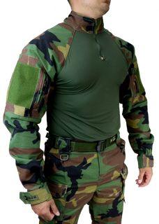 Farda Militar Tático Hrt Woodland Tactical Dacs Original