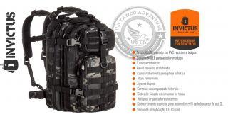 Mochila Assault Multicam Black Modular INVICTUS