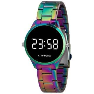 Relógio Feminino Led Furta Cor Lince Orient - MDT4617L BXQX