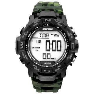 Relógio Mormaii Army GREEN Camuflado Garantia Technos