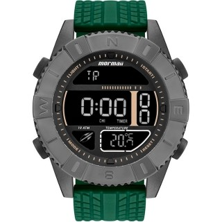 Relógio Mormaii Masculino Acquaforce Coyote Verde  Technos - MO5334AE/8C
