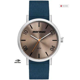 Relógio Mormaii Steel À Prova D'água - Garantia Technos