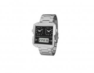 Relógio Square Digital E Analógico Lince Orient Original