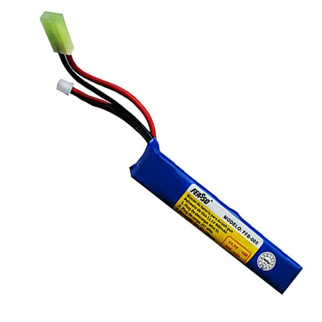 Bateria LiPo para Airsoft 11.1v - 900mAh