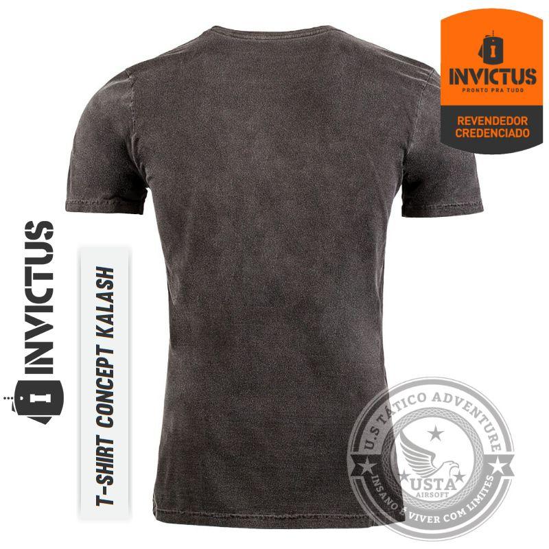 Camiseta T-shirt Concept Invictus KALASH Original - Algodão