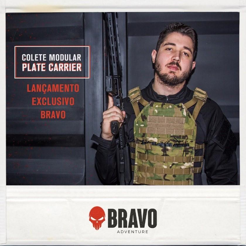 Colete Modular Plate Carrier Multicam Bravo