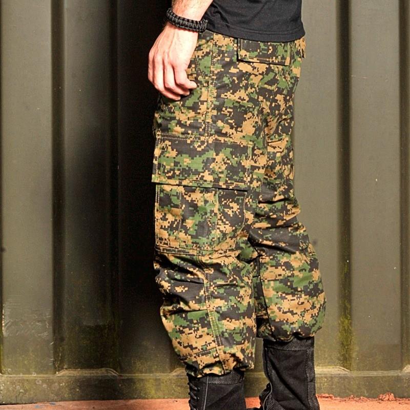 FARDA Loadout com GANDOLA Militar MARPAT Tático Completo
