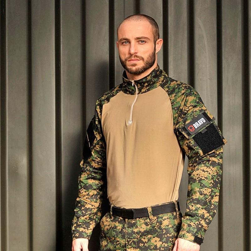 Farda Loadout Combat Shirt Militar Tático Completo