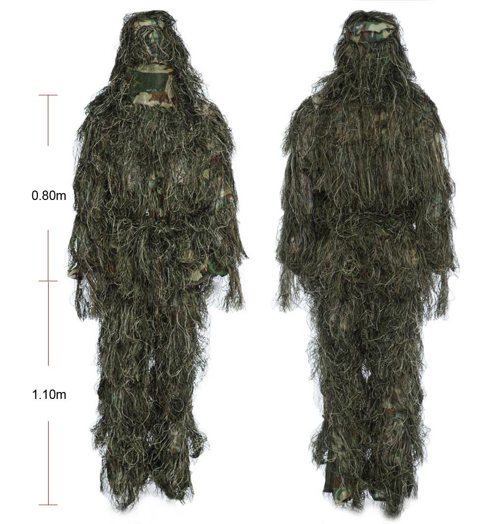 Ghillie Suit Jungle Hunting - Camuflagem Militar