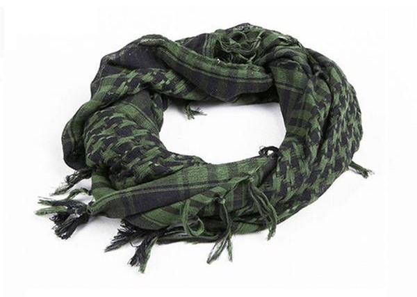 Hijab Shemagh Tactical Desert Arabic VERDE