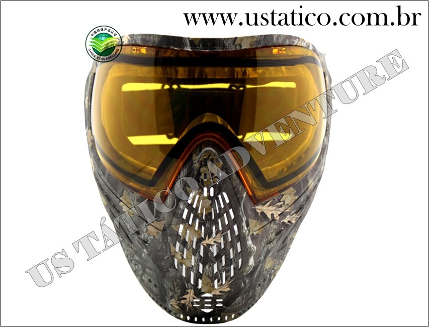 MÁSCARA TÁTICA PARA PAINTBALL E AIRSOFT com DYE I4 Thermal Lens