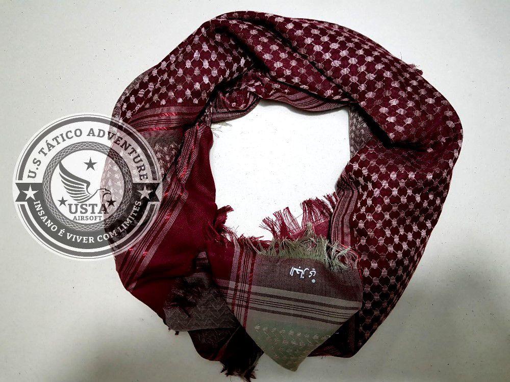 SHEMAGH Hijab Muçulmano WINE
