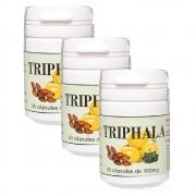 KIT com 3 Triphala - 90 cápsulas de 100mg  100% natural