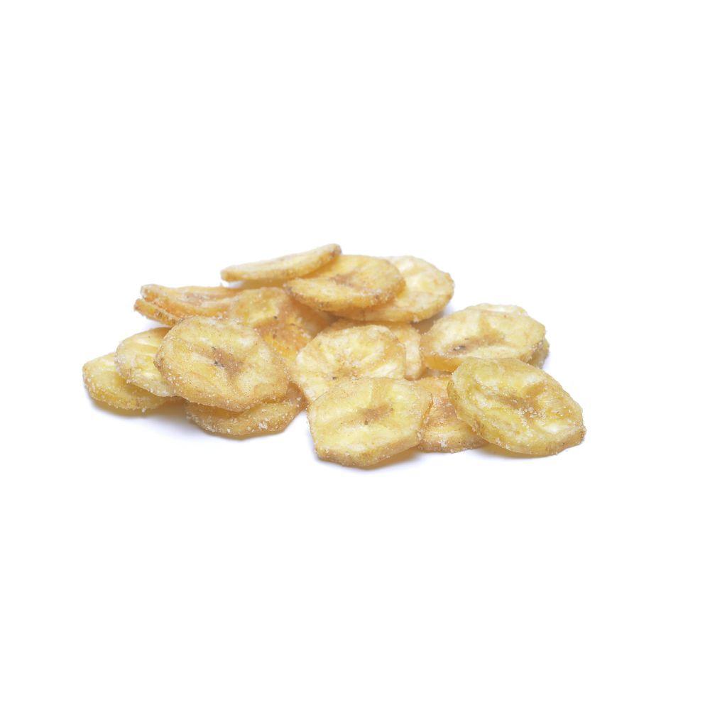 Banana Chips com Açúcar e Canela  - Planta e Saúde