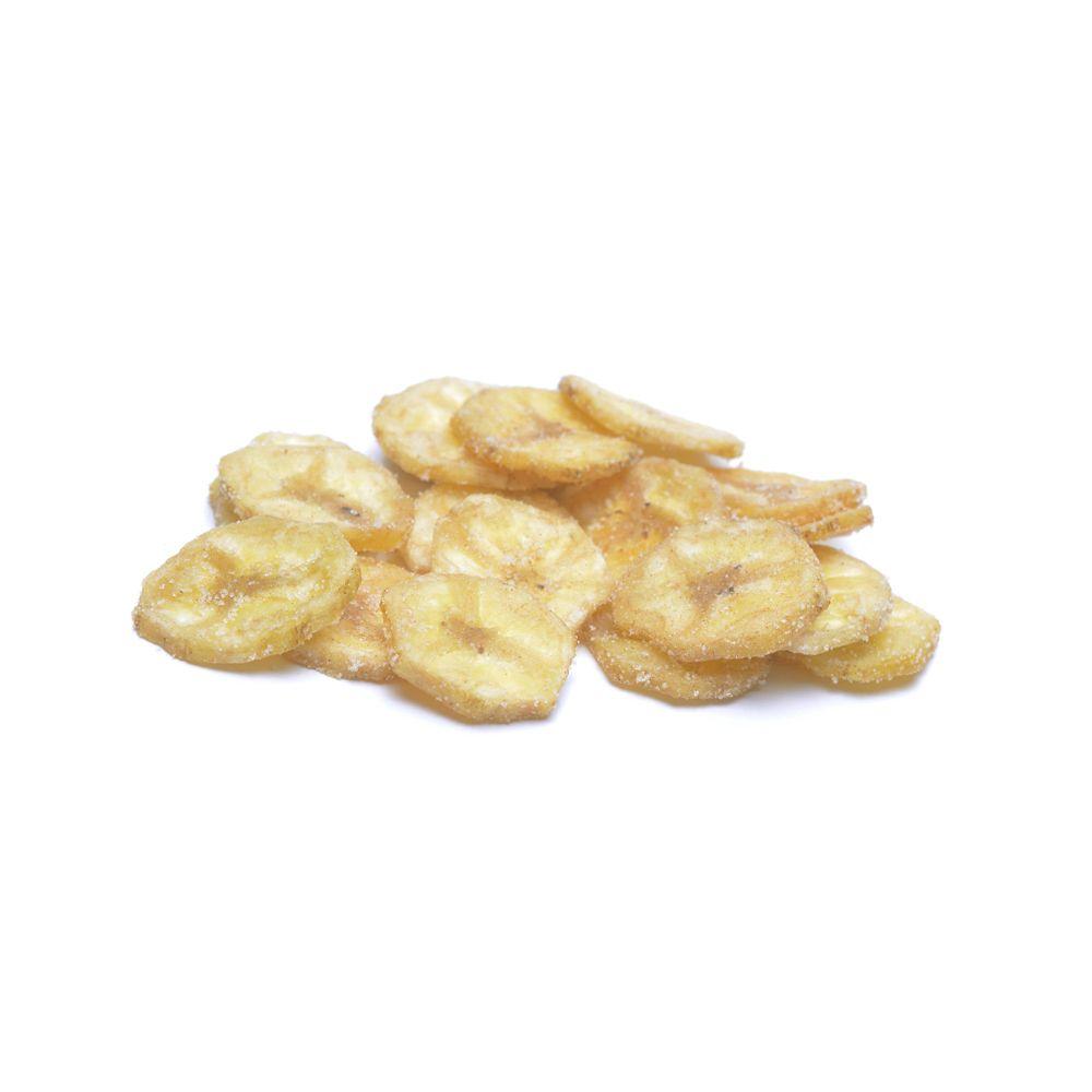 Banana Chips com Sal  - Planta e Saúde