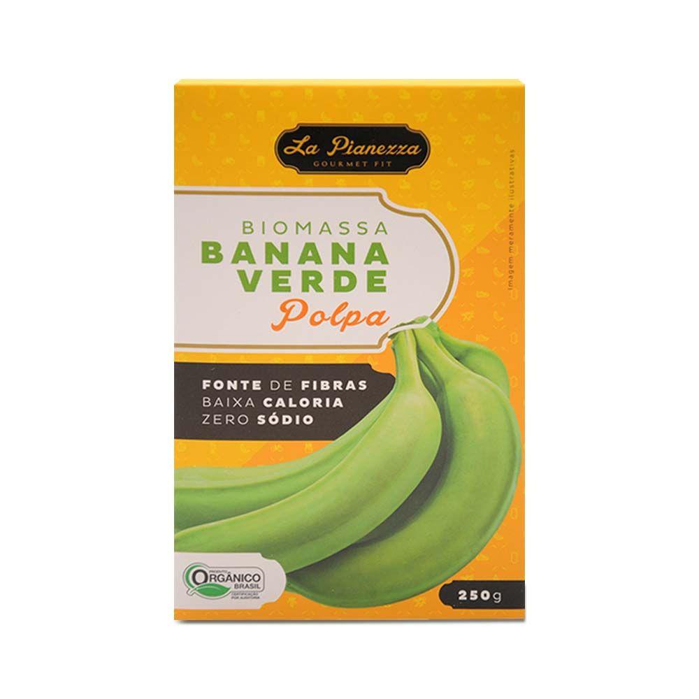 Biomassa de Banana Verde Polpa 250g - La Pianezza  - Planta e Saúde