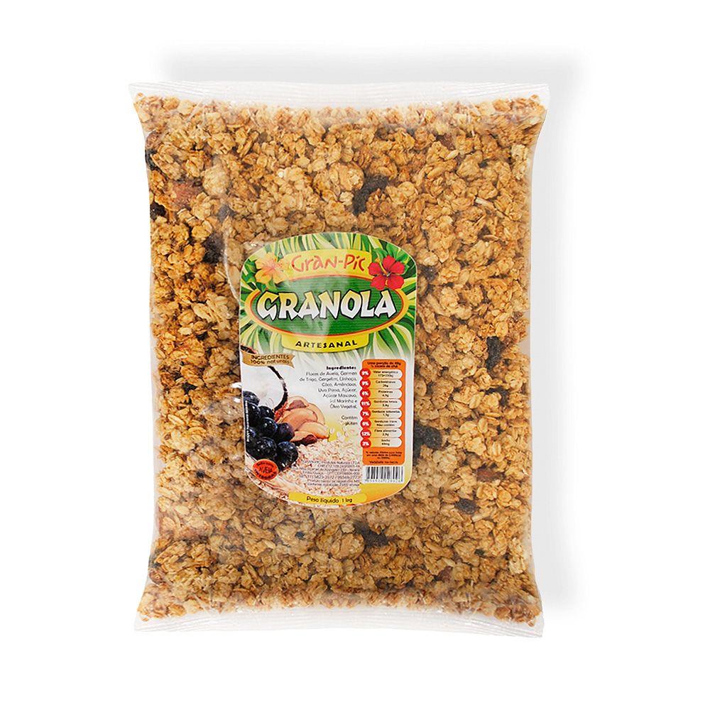 Granola Gran Pic 1Kg  - Planta e Saúde
