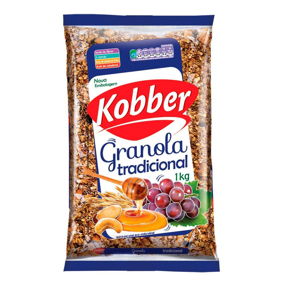 Granola Tradicional Kobber 1Kg  - Planta e Saúde