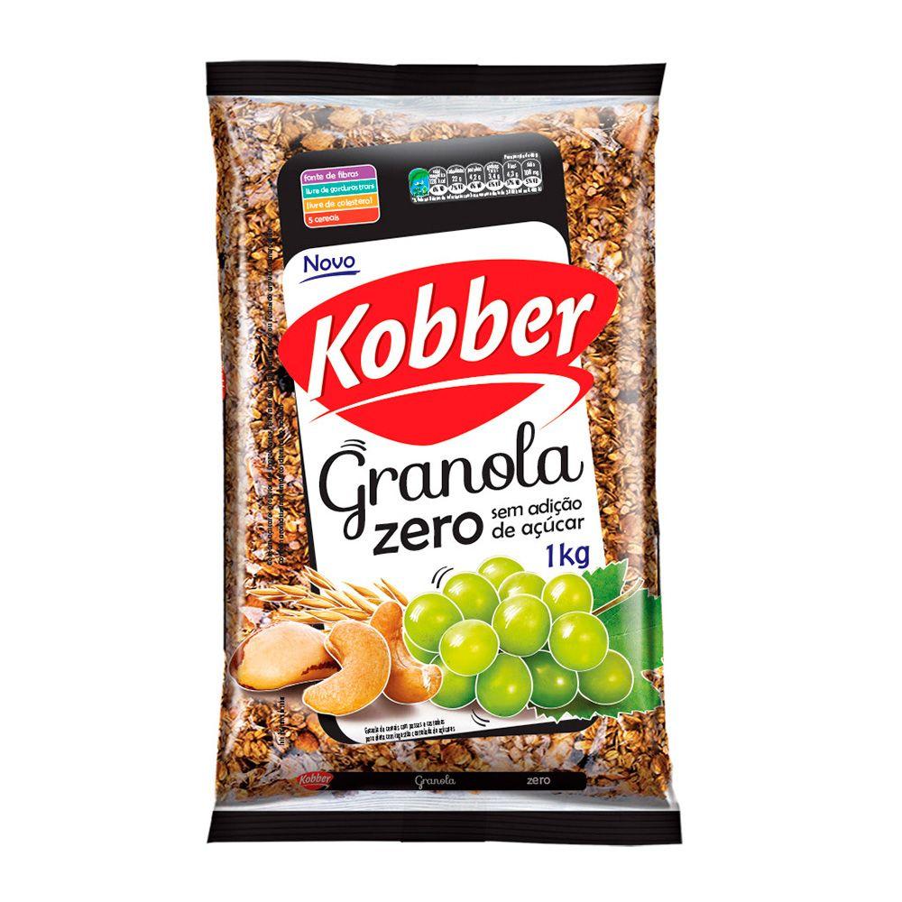 Granola Zero Kobber 1Kg  - Planta e Saúde