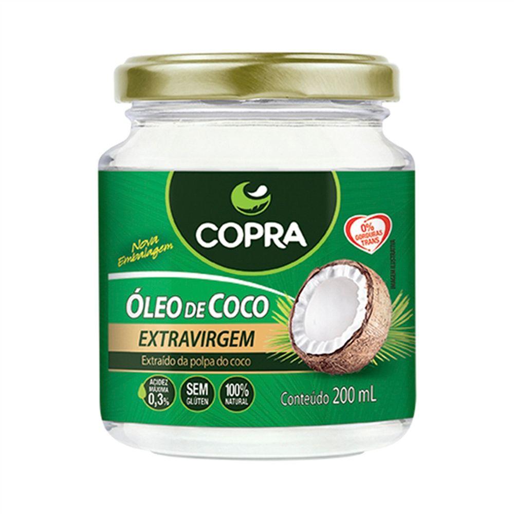 Óleo de Coco Copra 200ml  - Planta e Saúde