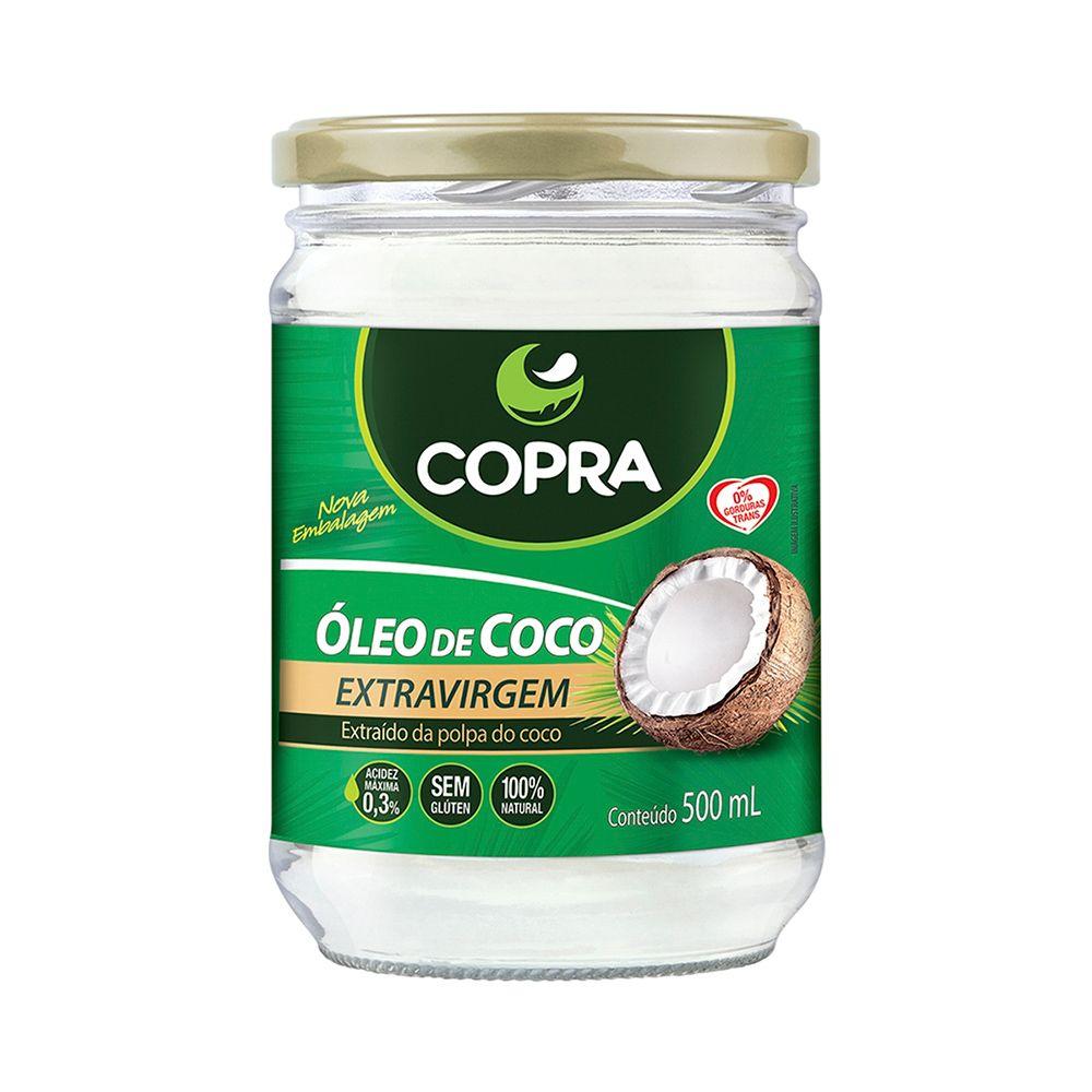 Óleo de Coco Copra 500ml  - Planta e Saúde