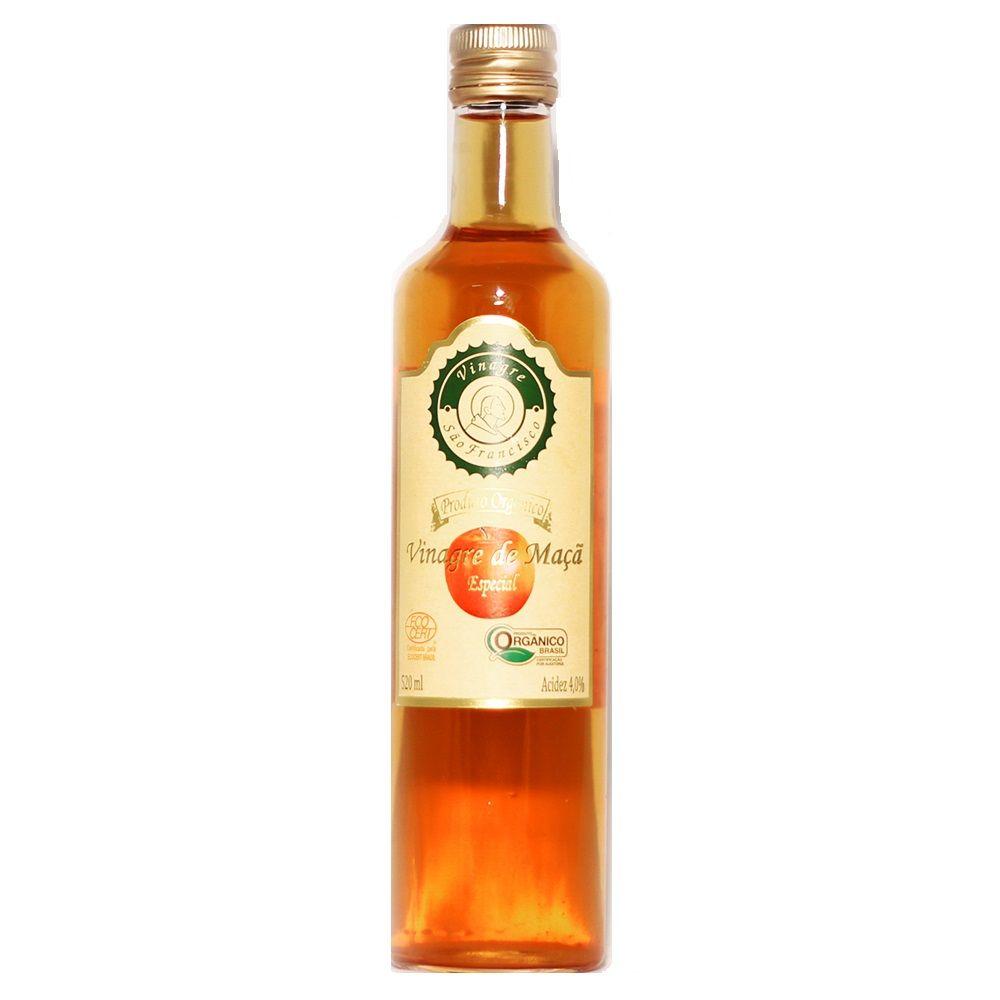 Vinagre de Maça Orgânico São Francisco 510ml  - Planta e Saúde