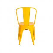 Cadeira Tolix Iron Design Amarela
