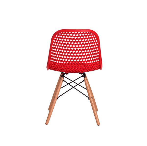 Cadeira Colméia Vermelha