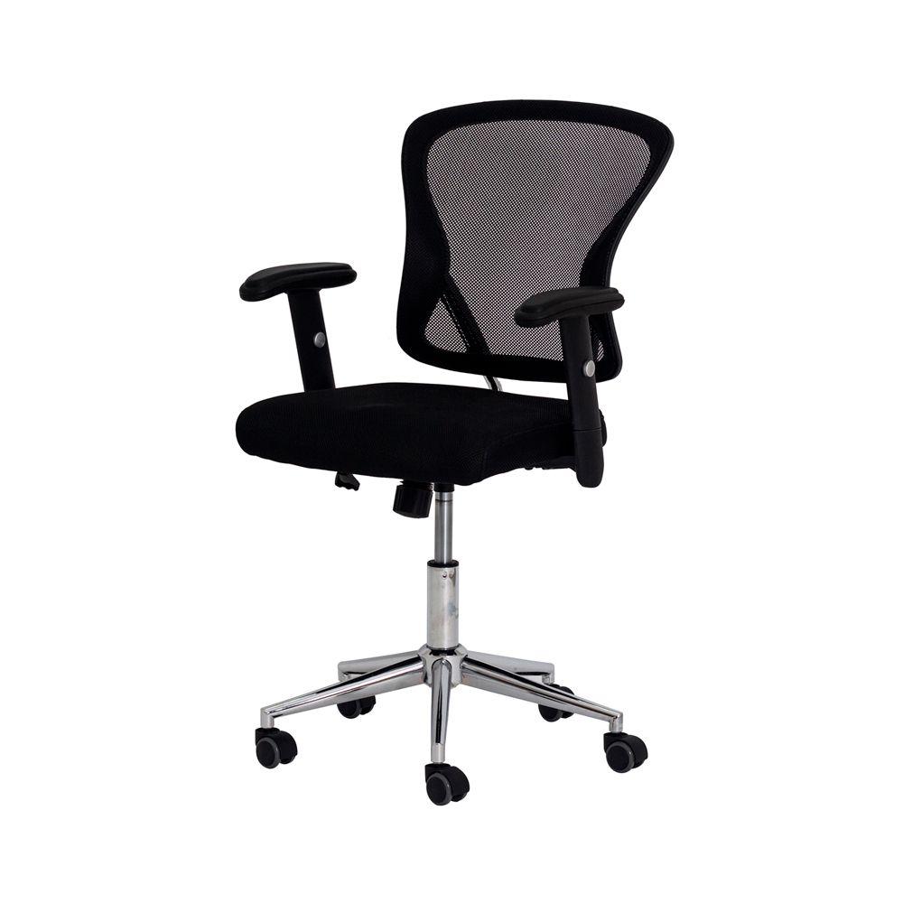 Cadeira Escritório Ergo Diretor Tela Mesh Preta
