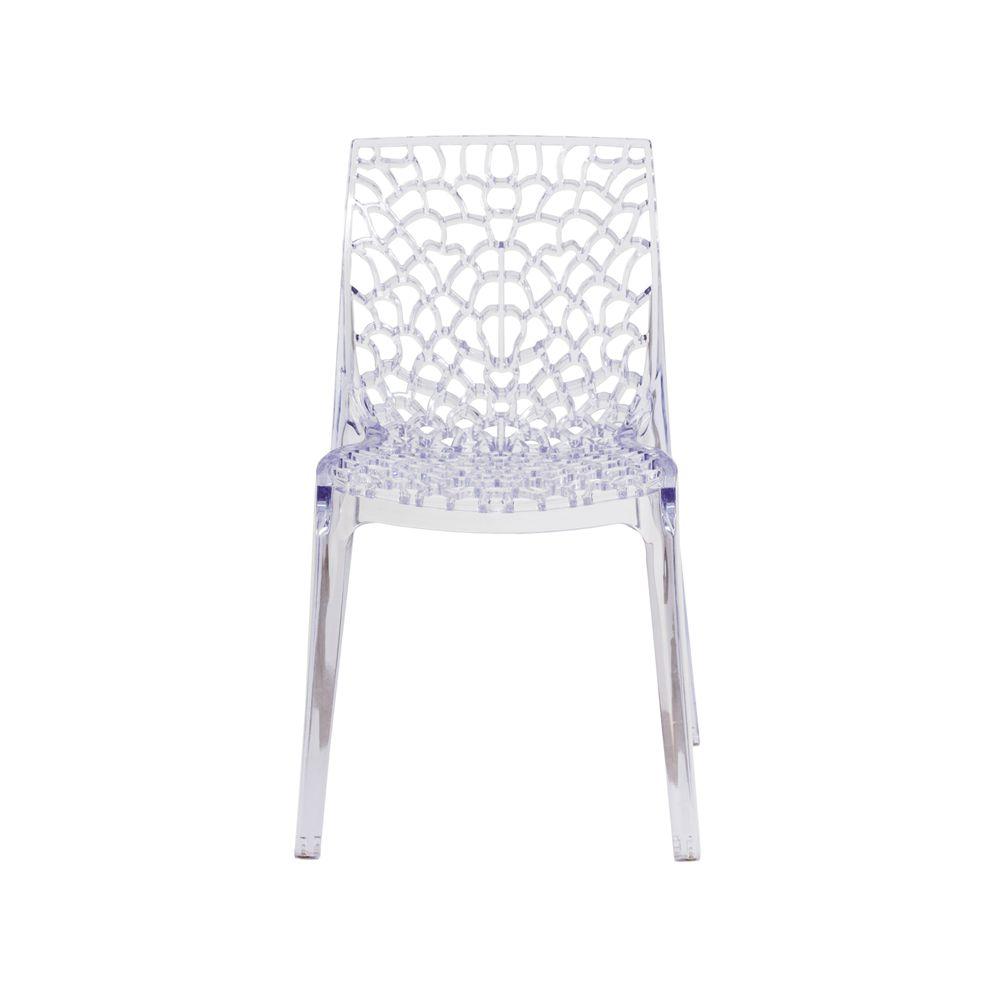 Cadeira Gruvyer Transparente