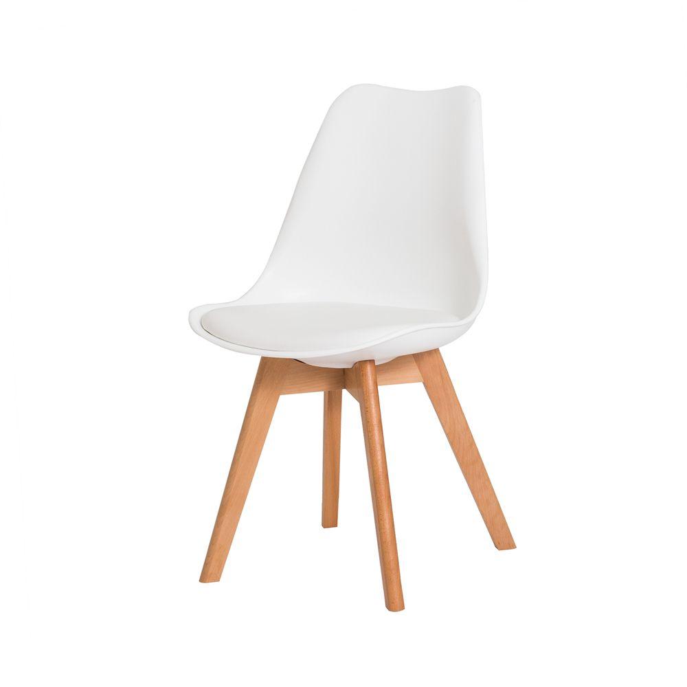 Cadeira Leda Saarinen Design Branca