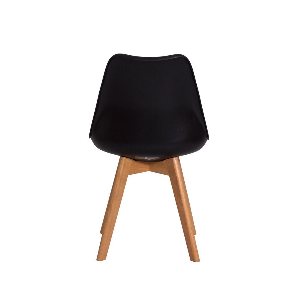 Cadeira Leda Saarinen Design Preta