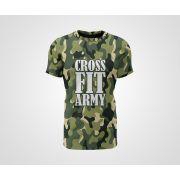 Camiseta Dry - Crossfit Army Camuflada Verde